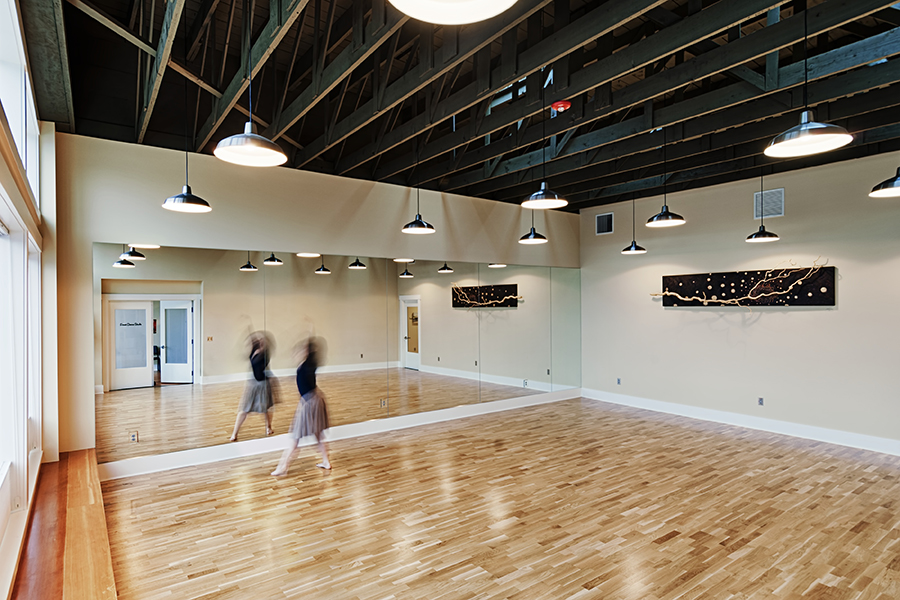 Dance studio jansen art center for Porte arts and dance studio