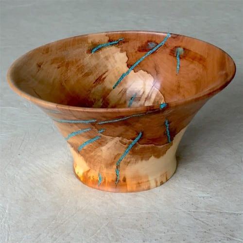 Apple-wturquoise-bowl